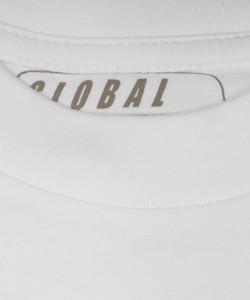 witte t shirts diepe v hals