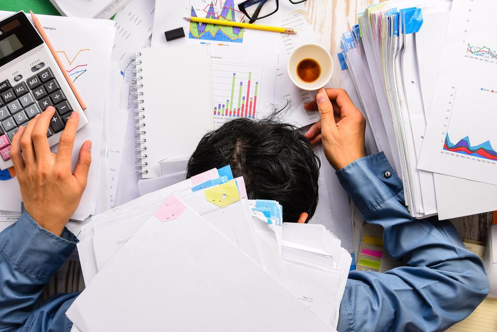 overspannen door werk
